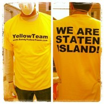 Men's T Yellow
