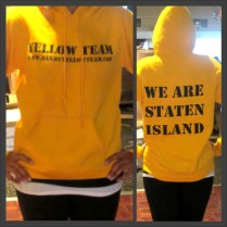 Adult Hoodie Yellow